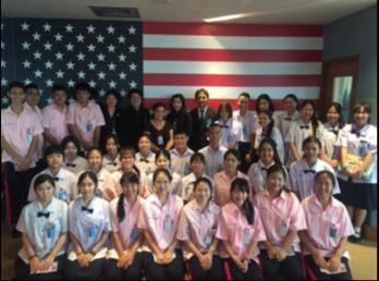 ศูนย์อาเซียนฯ นำนักเรียนมัธยมสาธิตร่วมชมภาพยนตร์ของสถานทูตอเมริกา