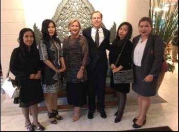 ศูนย์อาเซียน และ วิเทศสัมพันธ์ เข้าร่วมงานวันครบรอบ 70 ปี บ้านพักเอกอัครราชทูตสหรัฐอเมริกา ประจำประเทศไทย