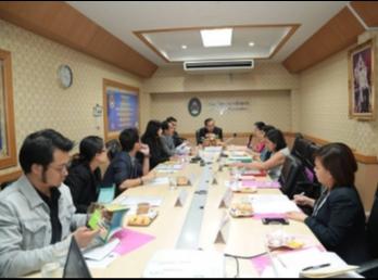 ประชุมหารือในการเข้าร่วมโครงการประกวด SOUTHEAST ASIAN PRIX JEUNESSE