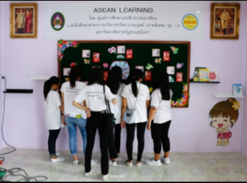 Project of Academic Services on ASEAN Community at Bansubphukkad School, Nakhon Sawan Province