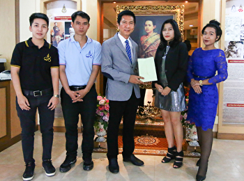 CAST Extended Warm Wishes of New Year 2018 to the President, Suan Sunandha Rajabhat University