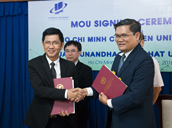 President Signed MoU with HCMCOU